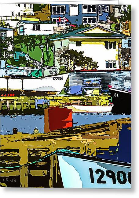 Petty Harbor Greeting Card
