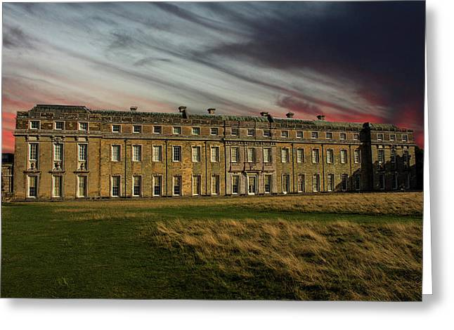 Petworth House Greeting Card by Martin Newman