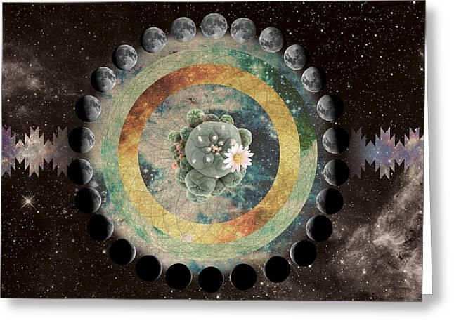 Peyote Moon Phase Greeting Card
