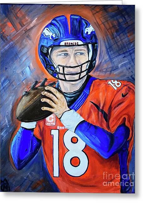 Peyton Manning Greeting Card