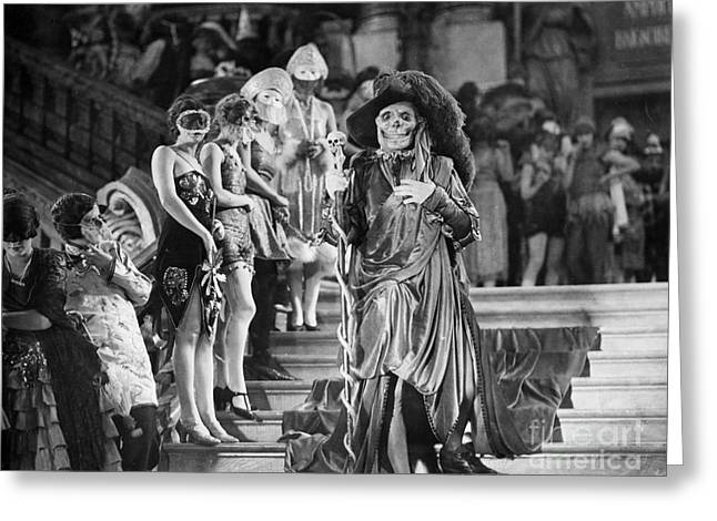 Interior Scene Greeting Cards - Phantom Of The Opera, 1925 Greeting Card by Granger