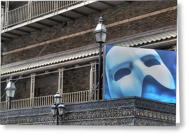 Phantom Of The Opera - Broadway Greeting Card by Timothy Lowry