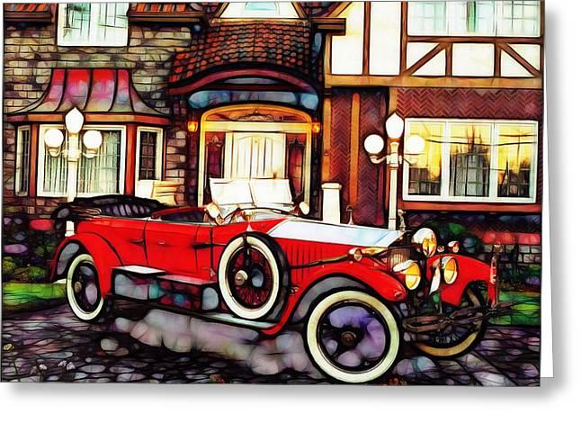Phantom Rolls Royce 1935 Greeting Card by Mario Carini