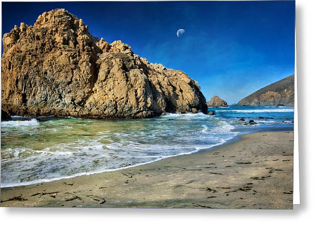 Pheiffer Beach - Keyhole Rock #10- Big Sur California Greeting Card