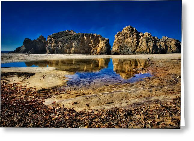 Pheiffer Beach #15 - Big Sur, Ca Greeting Card