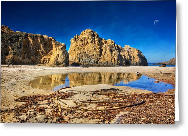 Greeting Card featuring the photograph Pheiffer Beach - Keyhole Rock #16 - Big Sur, Ca by Jennifer Rondinelli Reilly - Fine Art Photography