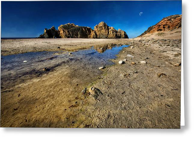 Greeting Card featuring the photograph Pheiffer Beach -keyhole Rock #18 - Big Sur, Ca by Jennifer Rondinelli Reilly - Fine Art Photography