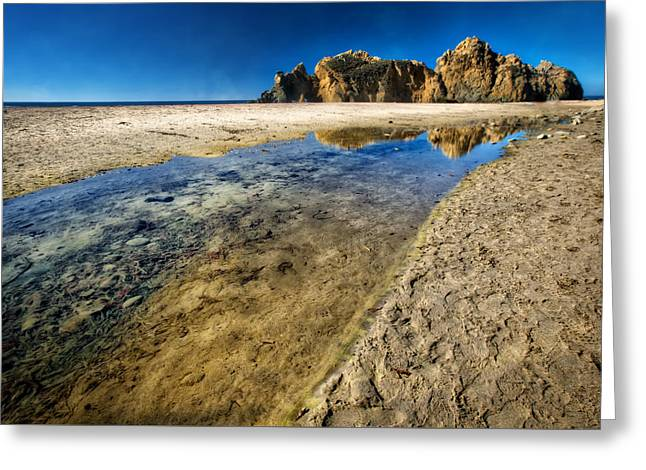 Greeting Card featuring the photograph Pheiffer Beach- Keyhole Rock #19 - Big Sur, Ca by Jennifer Rondinelli Reilly - Fine Art Photography