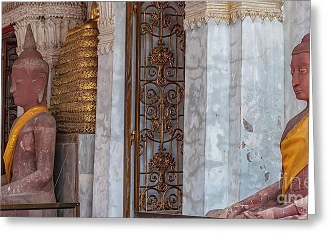 Phetchaburi Temple Entrance Greeting Card by Antony McAulay