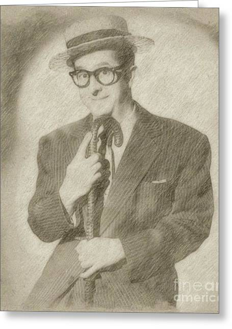Phil Silvers, Actor, Comedian Greeting Card