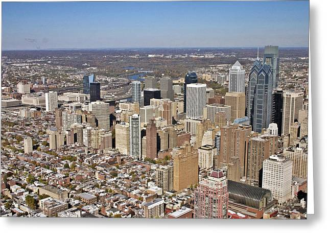 Philadelphia Avenue Of The Arts Rittenhouse Greeting Card