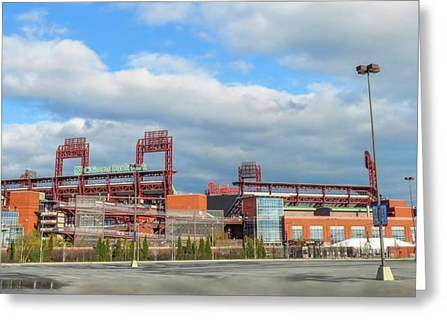 Philadelphia Baseball - Citizens Bank Park Greeting Card by Bill Cannon