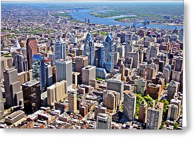 Philadelphia Center City Rittenhouse Square Greeting Card