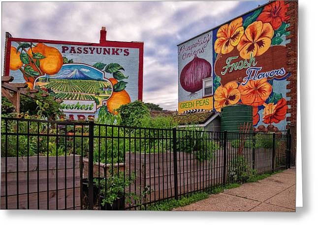 Philadelphia Community Gardens Greeting Card