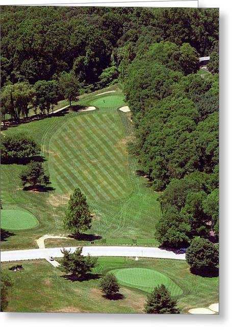 Philadelphia Cricket Club St Martins Golf Course 4th Hole 415 W Willow Grove Ave Phila Pa 19118 Greeting Card by Duncan Pearson