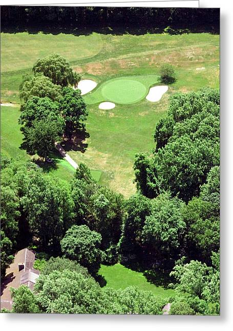 Philadelphia Cricket Club St Martins Golf Course 5th Hole 415 W Willow Grove Ave Phila Pa 19118 Greeting Card