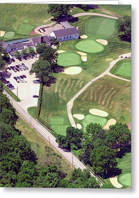Philadelphia Cricket Club Wissahickon Golf Course 10th Hole Greeting Card by Duncan Pearson