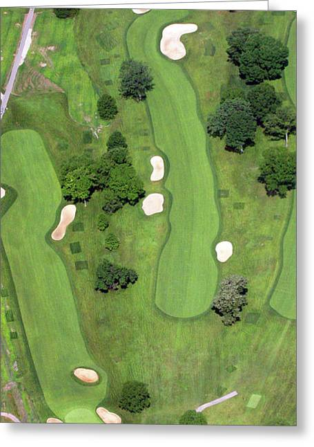 Philadelphia Cricket Club Wissahickon Golf Course 7th Hole Greeting Card by Duncan Pearson