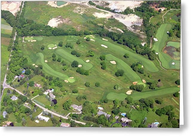 Philadelphia Cricket Club Wissahickon Holes 12 13 14 15 16 And 17 Greeting Card by Duncan Pearson