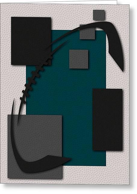 Philadelphia Eagles Football Art Greeting Card by Joe Hamilton