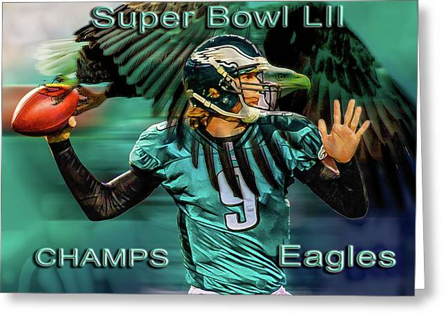 Philadelphia Eagles - Super Bowl Champs Greeting Card