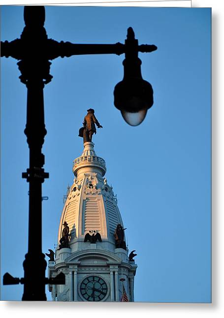 Philadelphia Freedom Greeting Card by Andrew Dinh