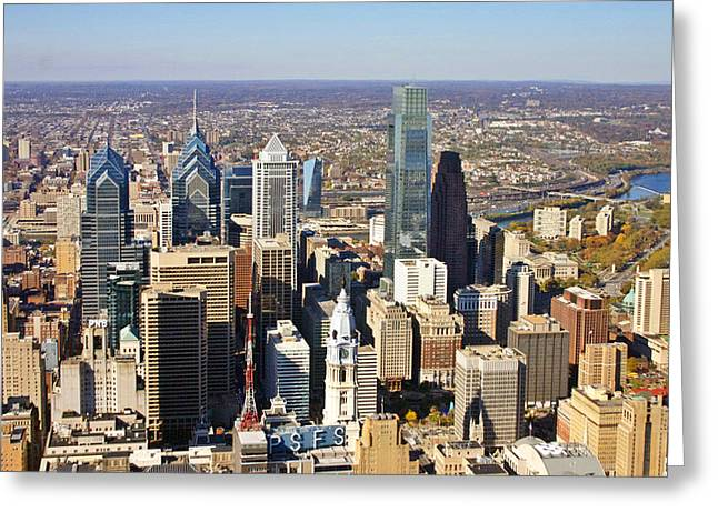 Philadelphia Market East 2925 Greeting Card