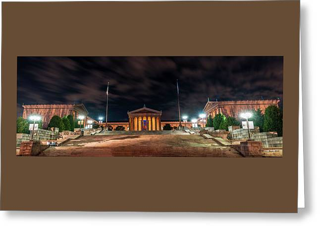 Greeting Card featuring the photograph Philadelphia Museum Of Art by Marvin Spates