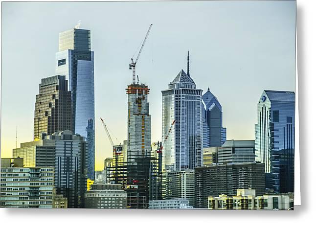 Philadelphia - Still Growing Greeting Card