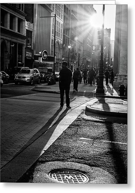 Philadelphia Street Photography - 0943 Greeting Card