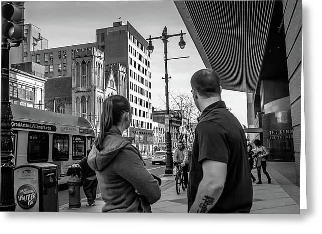 Philadelphia Street Photography - Dsc00248 Greeting Card