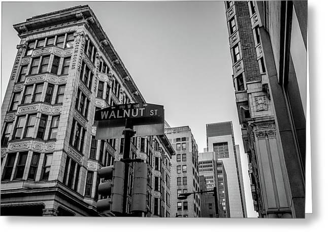 Philadelphia Urban Landscape - 0980 Greeting Card