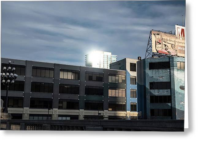 Philadelphia Urban Landscape - 1195 Greeting Card