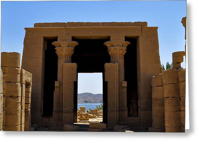 Philae Temple Greeting Card