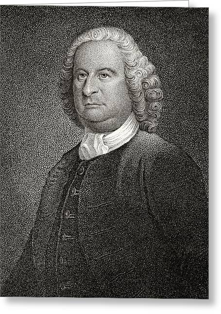 Philip Livingston 1716 To 1778 American Greeting Card