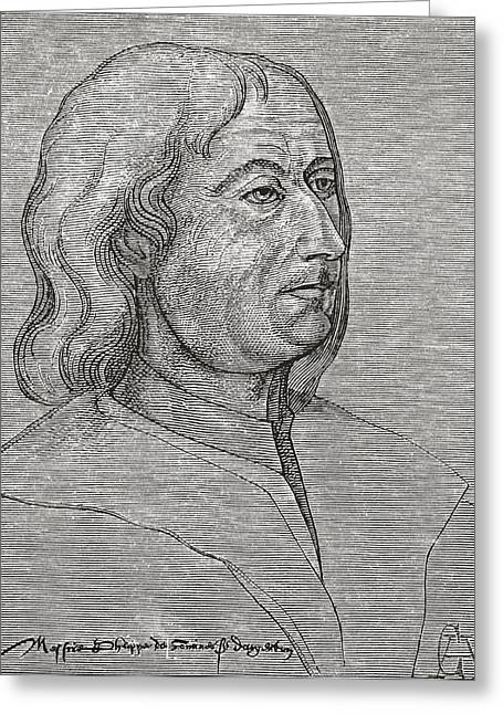 Philippe De Commines Or De Commynes Greeting Card by Vintage Design Pics