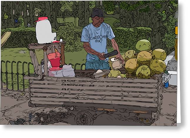 Philippines 936 Buko Greeting Card