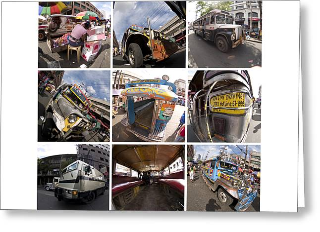 Philippines Photo Set Number One Greeting Card by Rolf Bertram