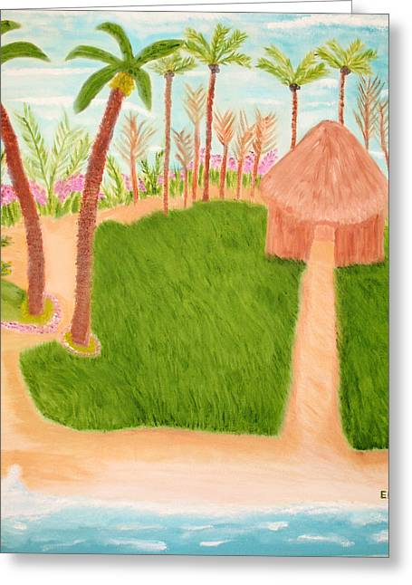 Phillipine Vacation Greeting Card by Edwin Long