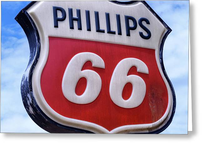 Phillips 66 - 1 Greeting Card