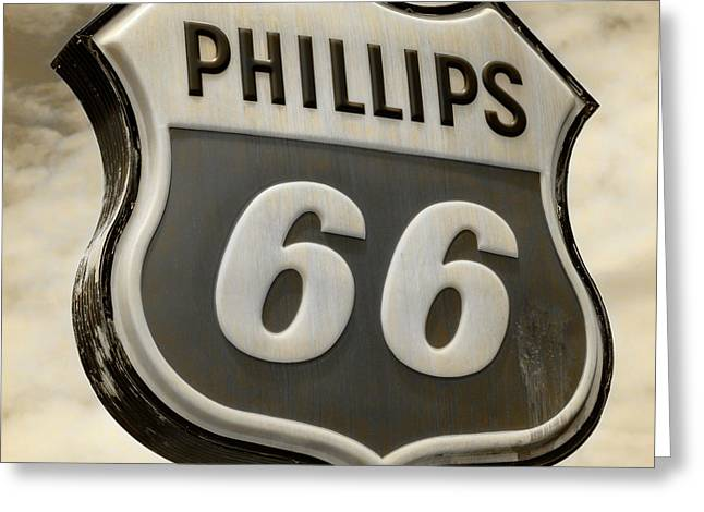 Phillips 66 - 4 Greeting Card