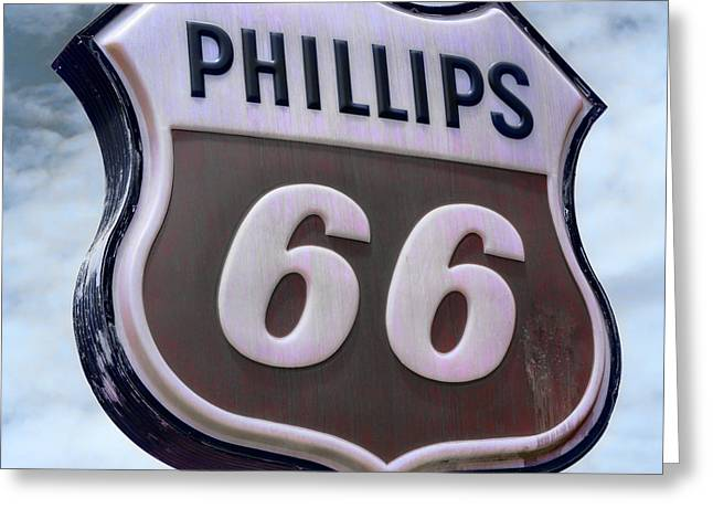 Phillips 66 - 5 Greeting Card