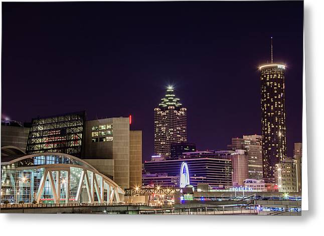 Phillips Arena 2 Greeting Card