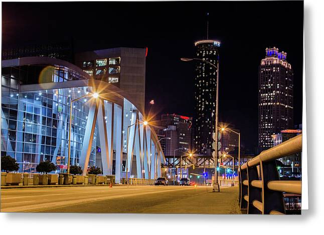 Phillips Arena Greeting Card