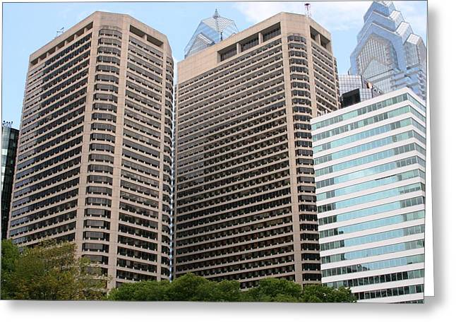 Philly  Greeting Card by Paul SEQUENCE Ferguson             sequence dot net