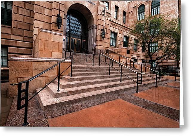 Phoenix Arizona Courthouse Greeting Card