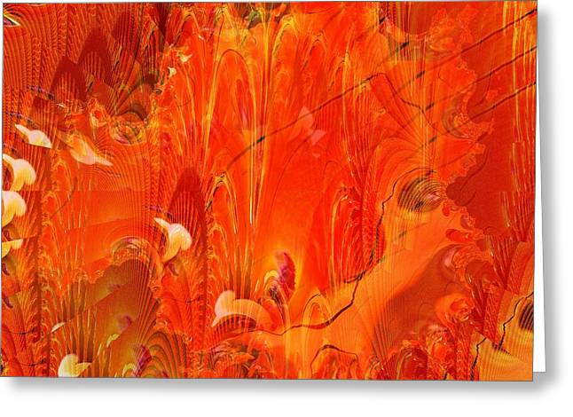 Phoenix Greeting Card by Don  Wright