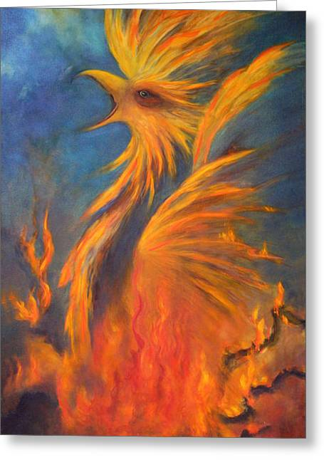 Phoenix Rising 1 Greeting Card