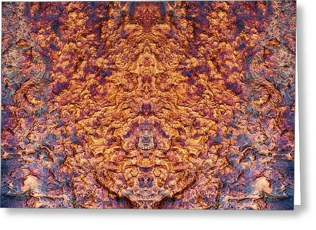 Phoenix Rising Greeting Card by Tim Gainey