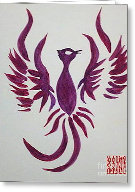 Phoenix Starr Greeting Card
